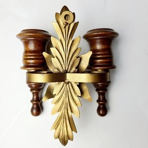 Vintage Accents - Vintage wall candlestick holders